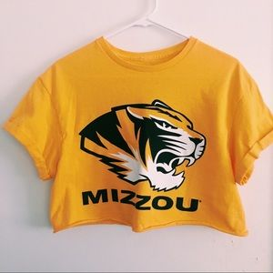 Mizzou Crop Top